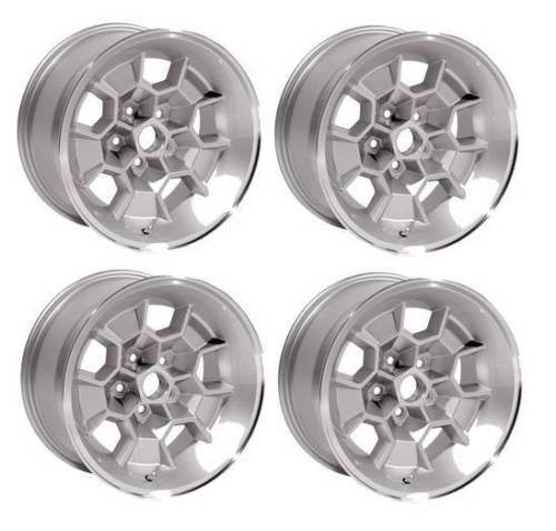 """Muscle Car Decals >> - 17"""" Honeycomb Cast Wheels Pontiac GTO Trans Am Firebird 17x9"""