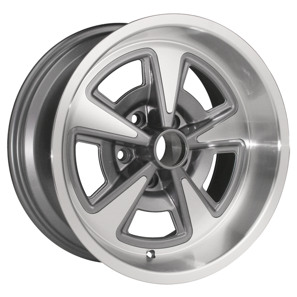 17x8 Pontiac Rally Ii Cast Wheels Full Set Wh 1510 02