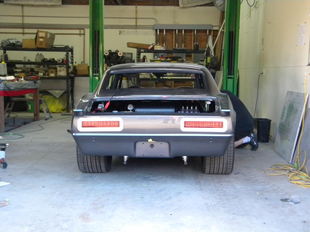 1967 1968 Chevy Camaro Rs Led Tail Light Panels New Design
