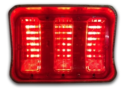 1967-1968 Ford Mustang Sequential LED Tail Light Kit NEW DESIGN