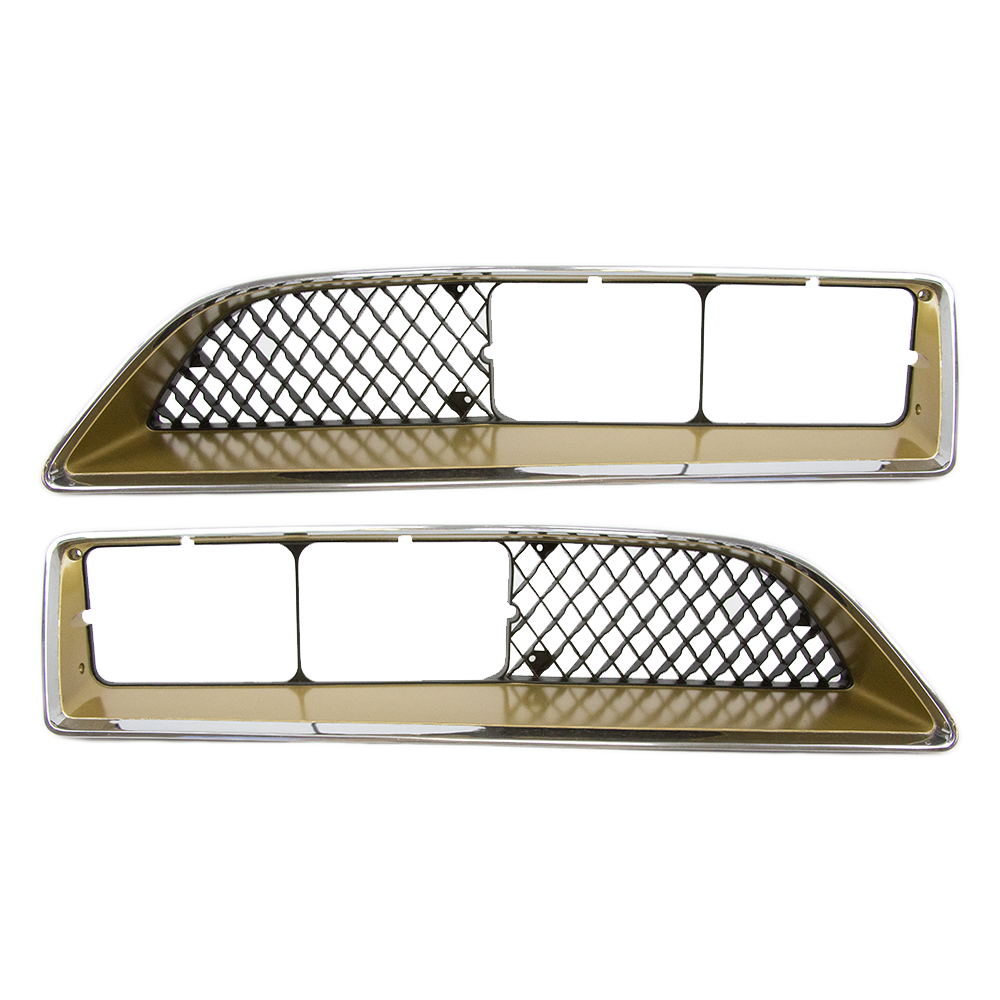 Muscle Car Decals >> - 1977-78 Pontiac Trans Am Front Grilles GOLD #CP-1510-12
