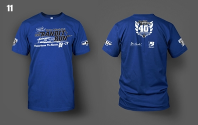 2017 Bandit Run Blue T-Shirt