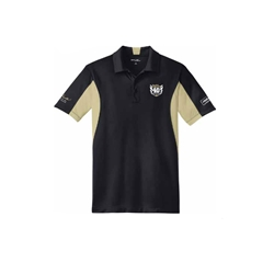 2017 Bandit Run Mens Polo Black and Gold