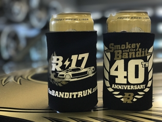 2017 Bandit run 40th Anniversary Koozie