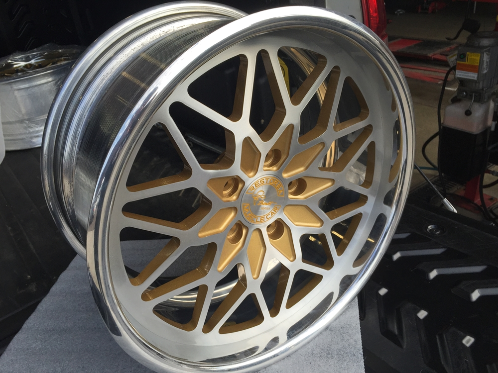 On Sale Custom Snowflake Billet Aluminum Wheels For