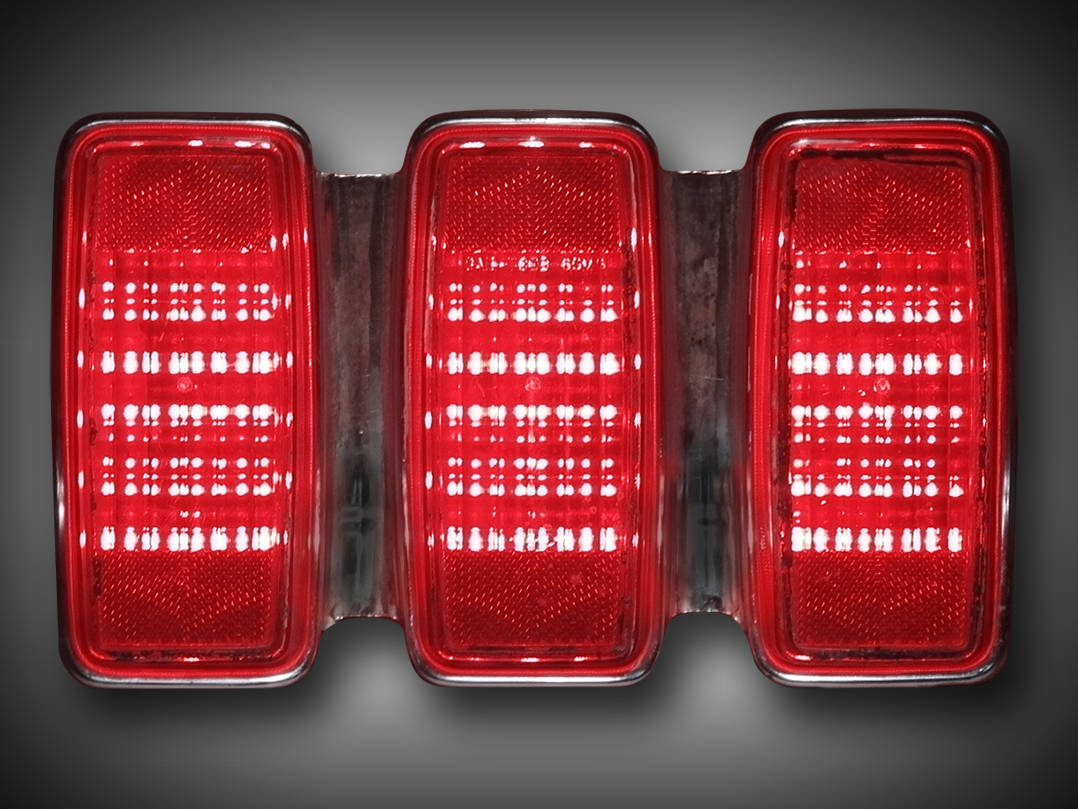 Restore A Muscle Car >> - 1969 For Mustang LED Tail Light Kit NEW DESIGN