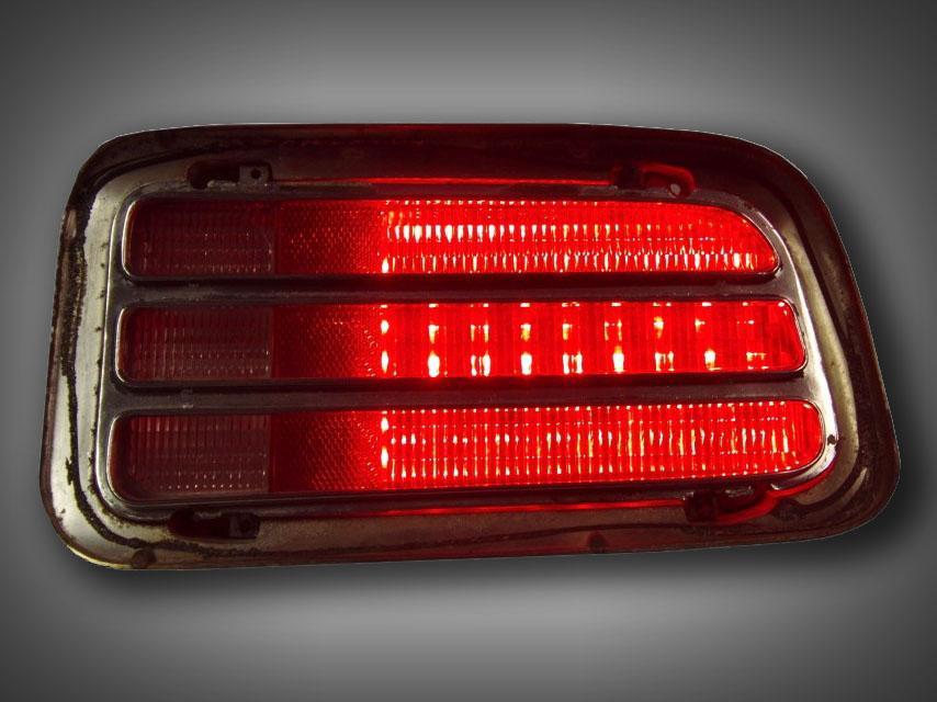 1970 Plymouth Cuda Led Tail Light Kit New Design