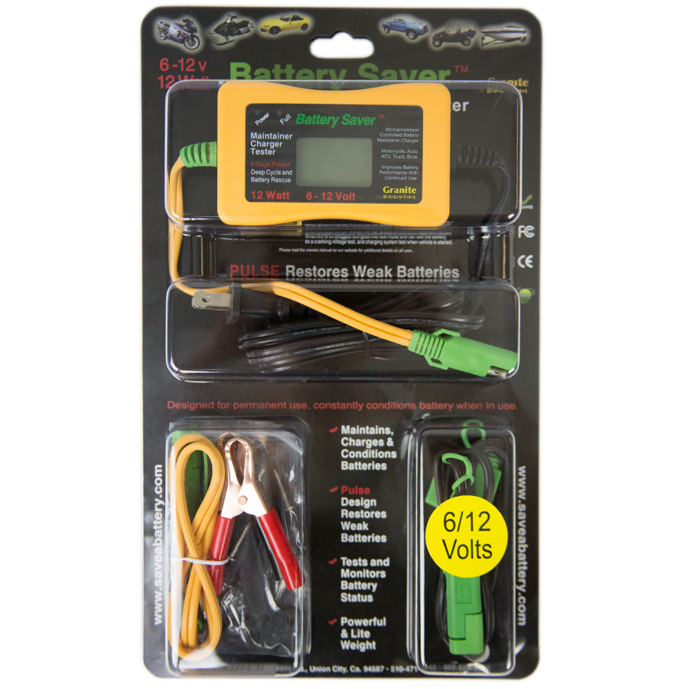 - Battery Saver Chargers And Maintainers