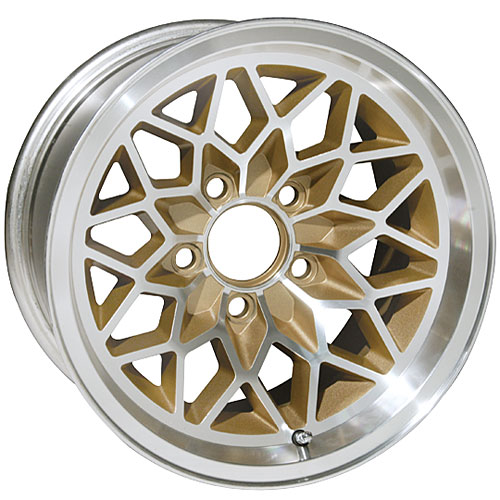 Gold Snowflake Wheels