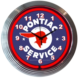 "15"" Neonetics Neon Wall Clock"