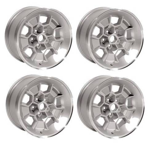 "17"" Honeycomb Cast Wheels Pontiac GTO Trans Am Firebird 17x9"