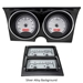 1968 Chevy Camaro VHX Instruments with Console gauges - VHX-68C-CAC