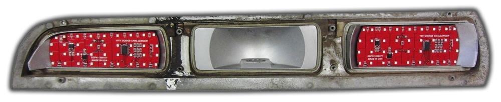1971 Dodge Challenger Digital Tail Light Panels New Design