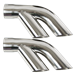"1976-1981 Trans Am Performance Exhaust 2.5"" to Dual 2.25"" Stainless Split Tips  - CP-1510-29"