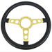 1976-81 NEW Steering Wheel GOLD - INT-1510-07