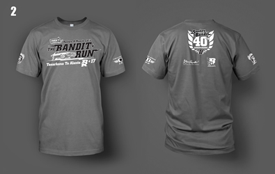 2017 Grey Bandit Run shirt