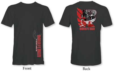 2019 Bandit Run T-Shirt Black DTG Printed 2019 Bandit Run , Short Sleeve Shirt , Trans AM, WS6, Firebird