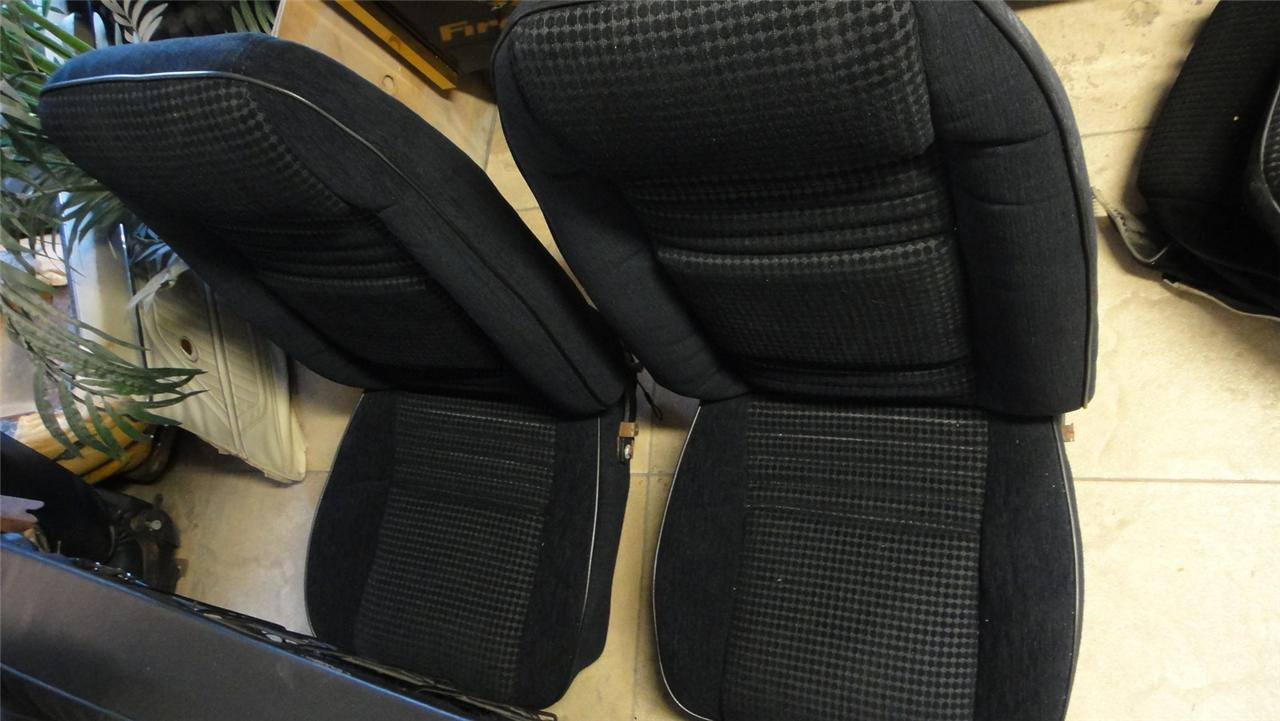 79 80 Firebird Trans Am Custom Cloth Hobnail Seat Covers
