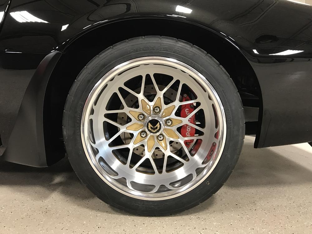 Custom Wheel Offset >> - ON SALE - CUSTOM SNOWFLAKE BILLET ALUMINUM WHEELS FOR PONTIAC TRANS AM #CustomBillet