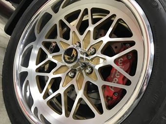 CUSTOM SNOWFLAKE BILLET ALUMINUM WHEELS FOR PONTIAC TRANS AM