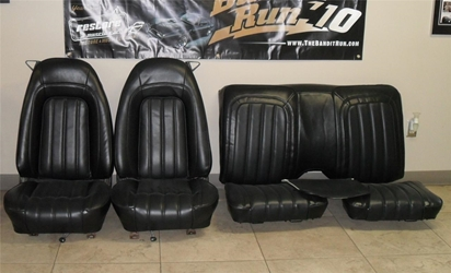 1977 Pontiac Firebird Trans Am Deluxe Vinyl Seat Upholstery Covers Full Set