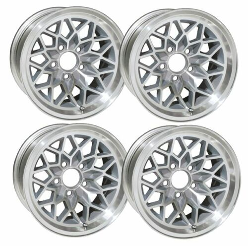 NEW 15x8 Snowflake Wheels 1st 2nd Gen Pontiac Trans Am Firebird