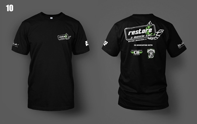 NEW Restore a Muscle Car T-shirt