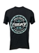 "New for 2020 Official Restore A Muscle Car ""Locally Crafted T-shirt - Black - 2020-Black"