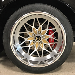 ON SALE - CUSTOM SNOWFLAKE BILLET ALUMINUM WHEELS FOR PONTIAC TRANS AM