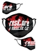 Restore A Muscle Car 2-Layer Face Mask - RAMC Black/Red Mask