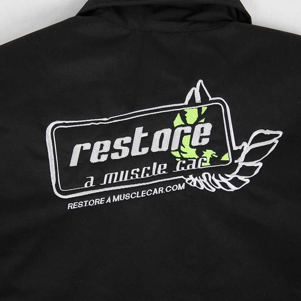 - Restore A Muscle Car Insulated Winter Coat Jacket #CL