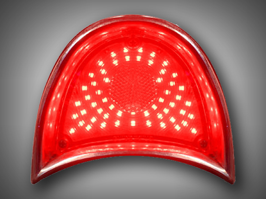 1957 Chevy Tri Five Led Tail Light Panels New Design