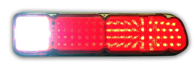1970-1977 Maverick, 1971-1976 Pinto Sequential LED Tail Light Kit w/LED Reverse
