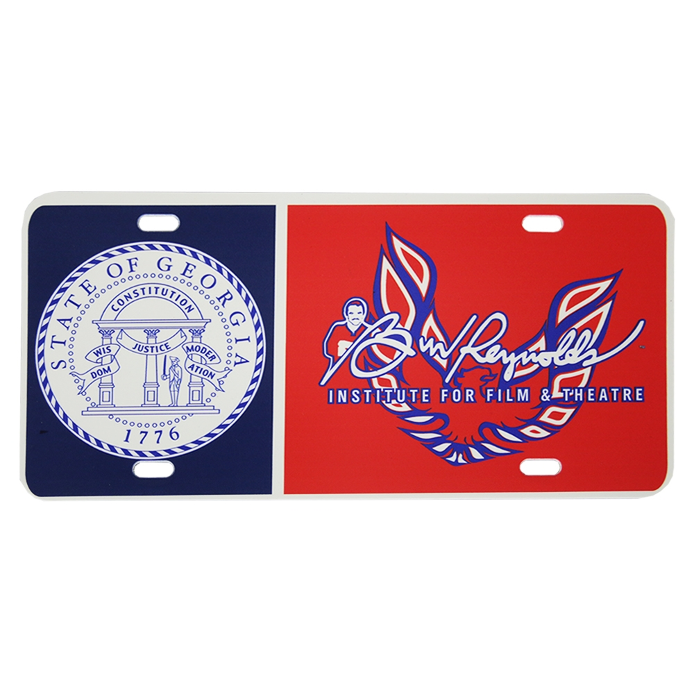 Burt Reynolds Red Amp Blue Quot Firebird Quot Logo Vanity Plate