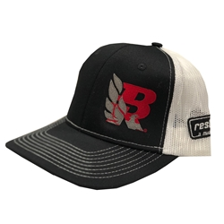2018 Bandit Run Mesh Trucker Hat Black White