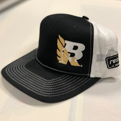 2018 Bandit Run Mesh Trucker Hat Black Gold