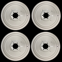 "Set of 4 New Wheels 17"" Chevy Blazer Pickup GMC Jimmy K10 C10 Cap Clips"